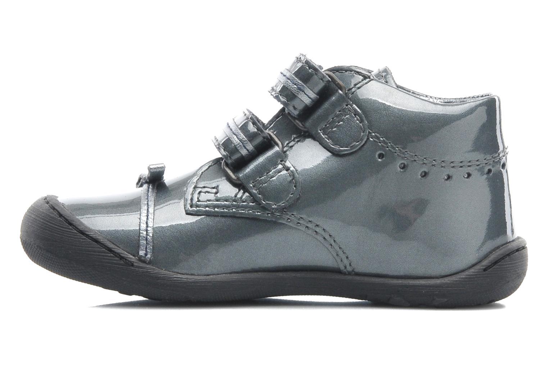 Chaussures à scratch Aster JULIE Gris vue face