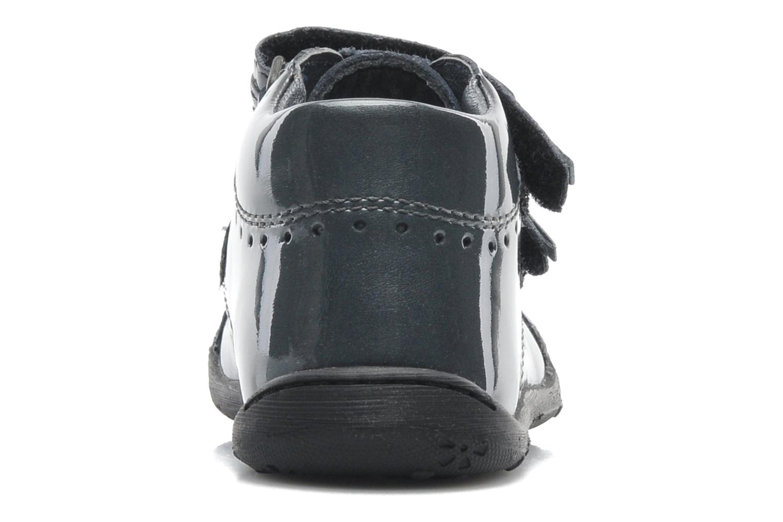 Chaussures à scratch Aster JULIE Gris vue droite