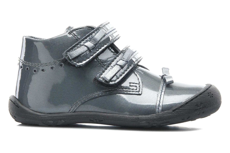 Chaussures à scratch Aster JULIE Gris vue derrière