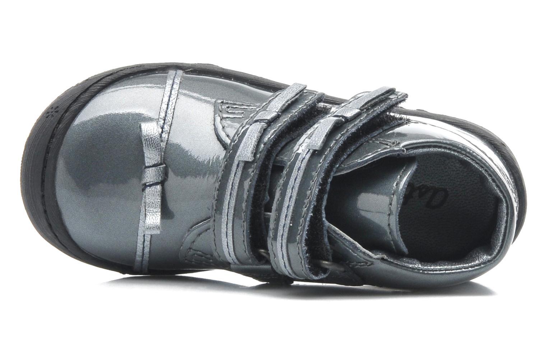 Chaussures à scratch Aster JULIE Gris vue gauche