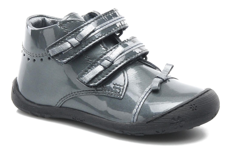 Chaussures à scratch Aster JULIE Gris vue détail/paire