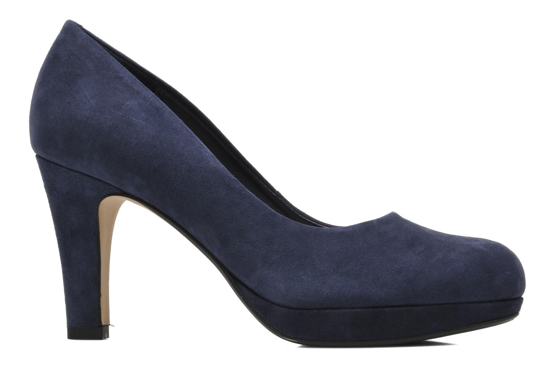 Zapatos de tacón Clarks Crisp Kendra Azul vistra trasera