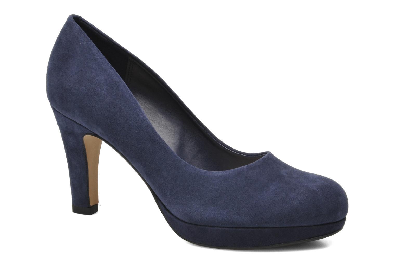 Zapatos de tacón Clarks Crisp Kendra Azul vista de detalle / par