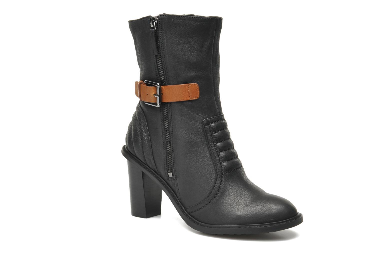Lisette Blues Black leather