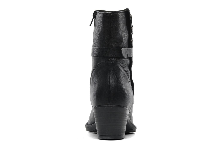 Bottines et boots Clarks Maymie Skye Noir vue droite