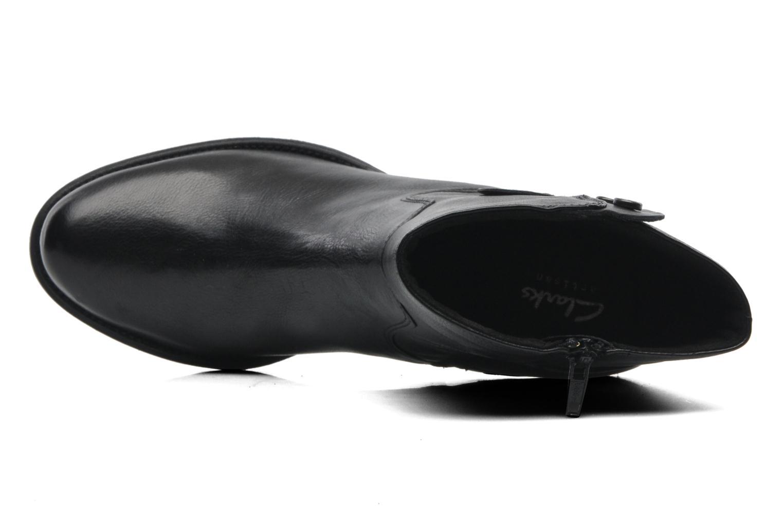 Bottines et boots Clarks Maymie Skye Noir vue gauche
