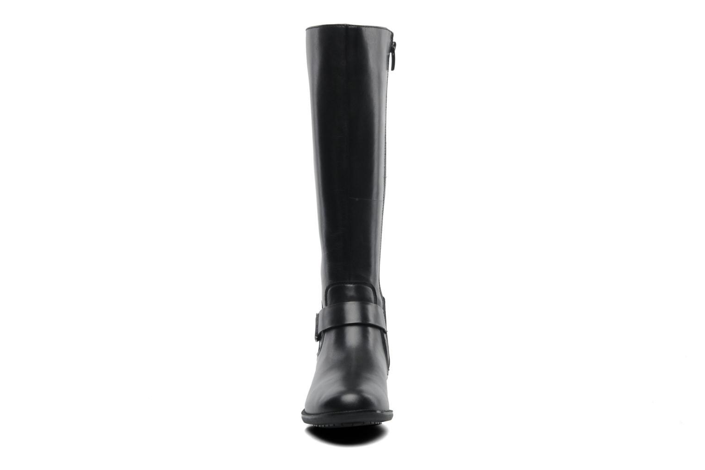 Stiefel Clarks Mint Treat GTX schwarz schuhe getragen