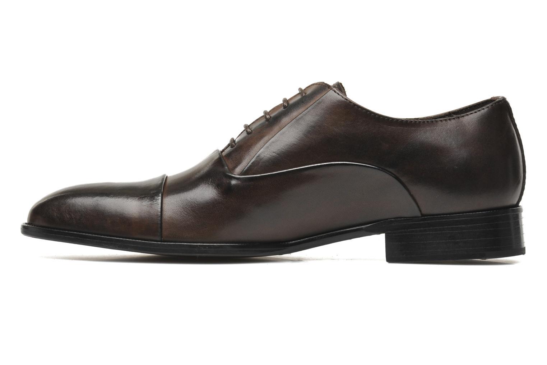 Chaussures à lacets Marvin&Co Nagoya Marron vue face