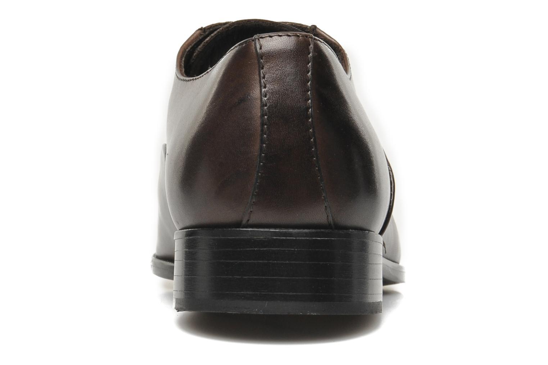 Chaussures à lacets Marvin&Co Nagoya Marron vue droite