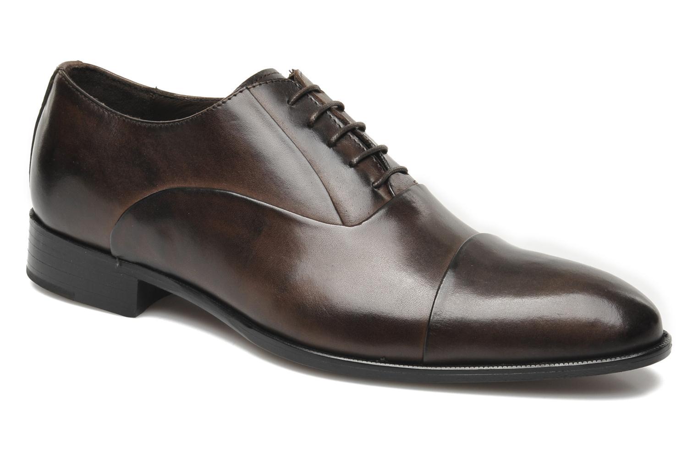 Chaussures à lacets Marvin&Co Nagoya Marron vue détail/paire
