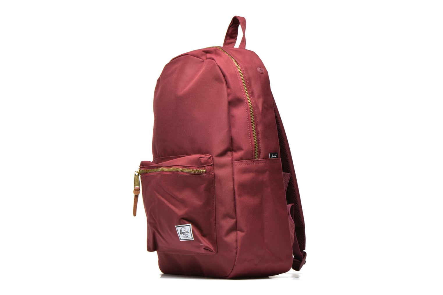 Rucksacks Herschel Settlement Burgundy model view