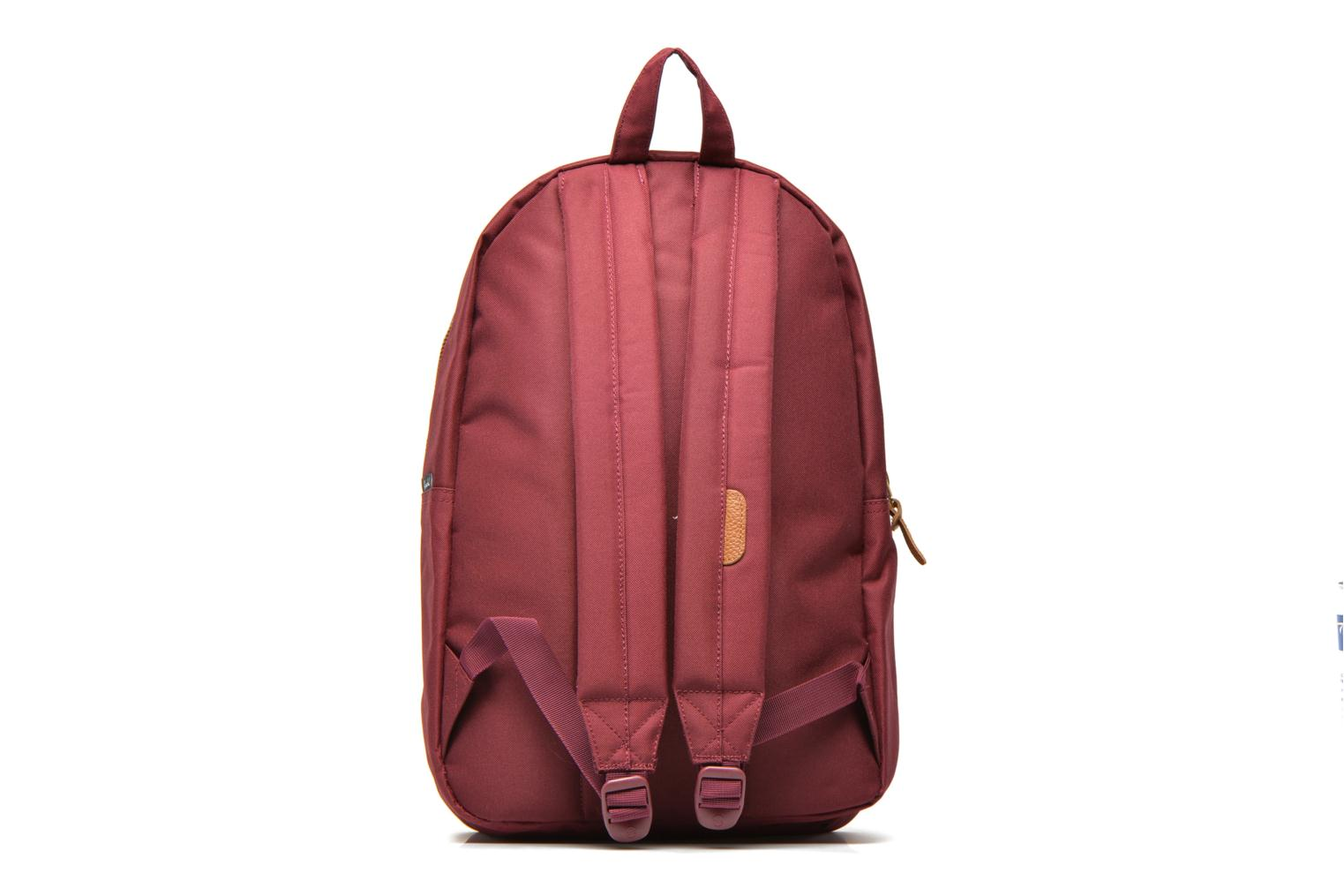 Rucksacks Herschel Settlement Burgundy front view