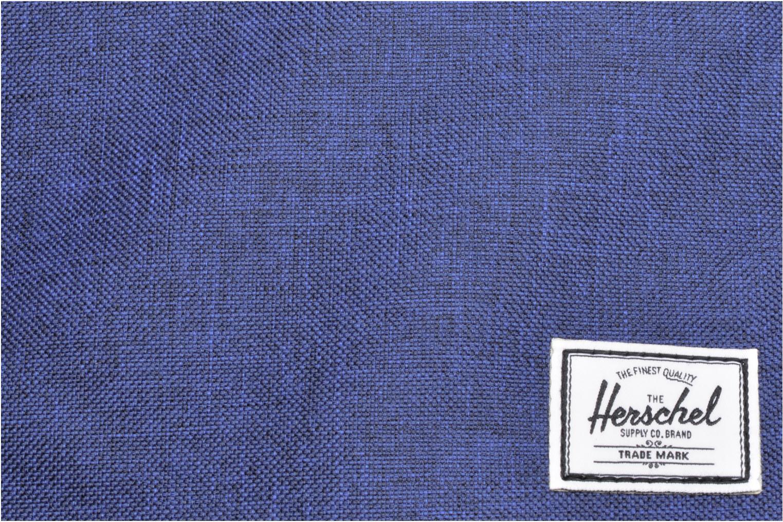 Rucksacks Herschel Settlement Blue view from the left