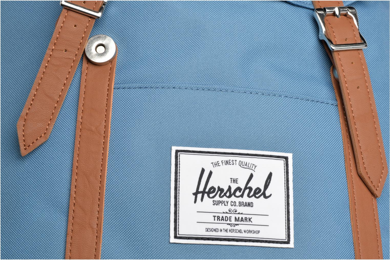 Sacs à dos Herschel Retreat Bleu vue gauche