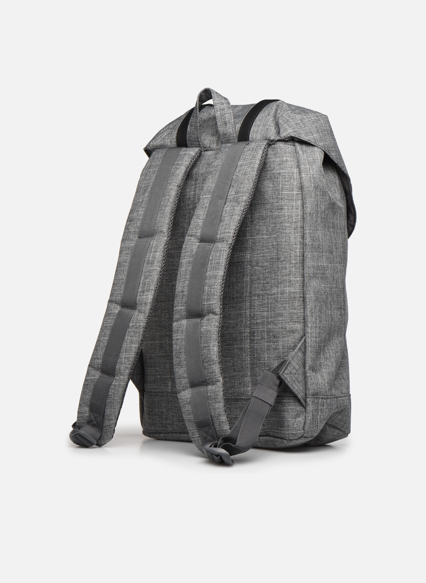 Mochilas Herschel Retreat Gris vista lateral derecha