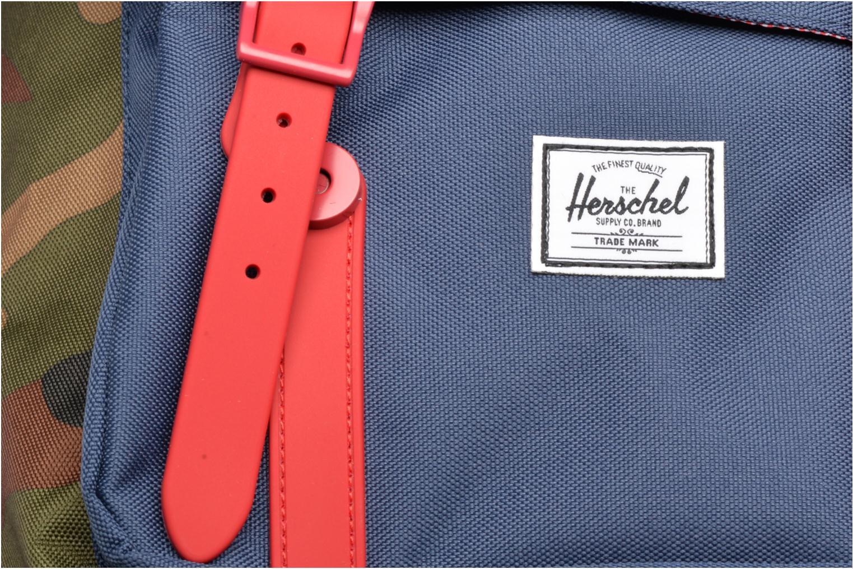 Rucksäcke Herschel Little America mehrfarbig ansicht von links