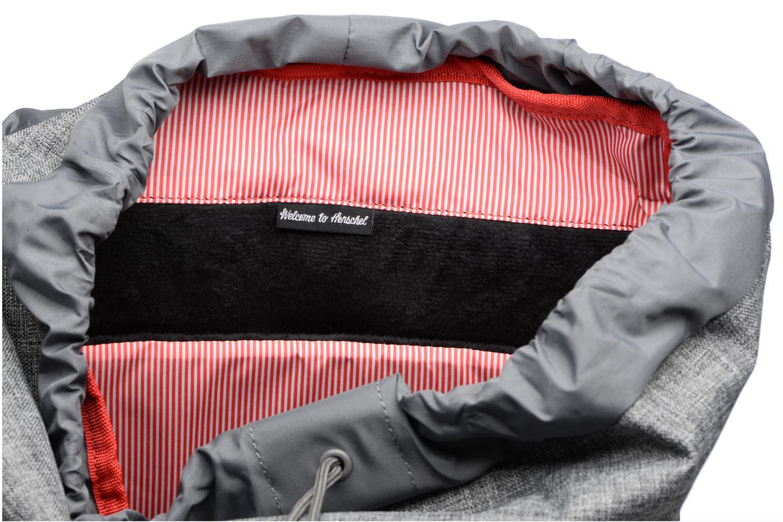 Rucksäcke Herschel Little America grau ansicht von hinten