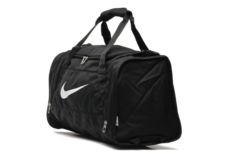 Sacs de sport Nike Brasilia 6 S Duffle Noir vue portées chaussures