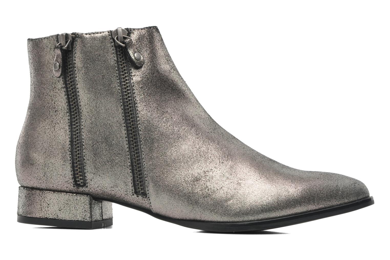 Stiefeletten & Boots Karston Perval grau ansicht von hinten