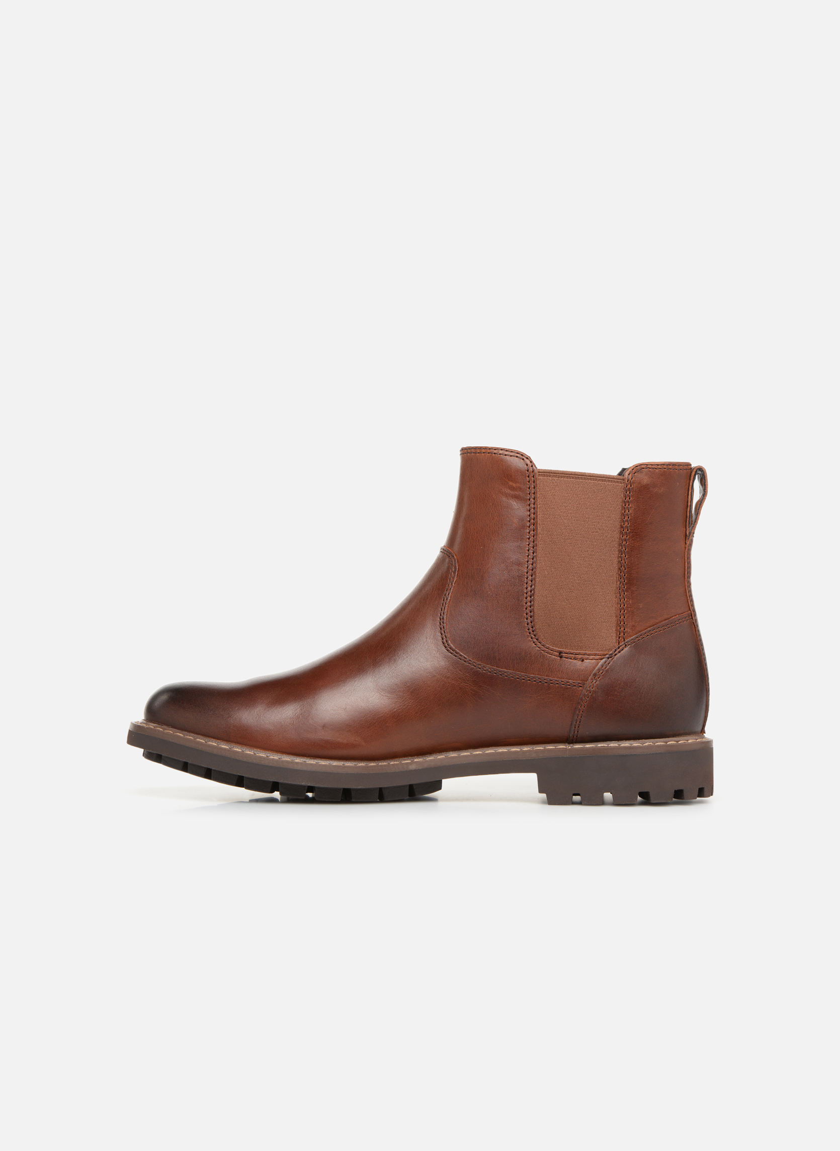 Ankle boots Clarks Montacute Top Brown front view