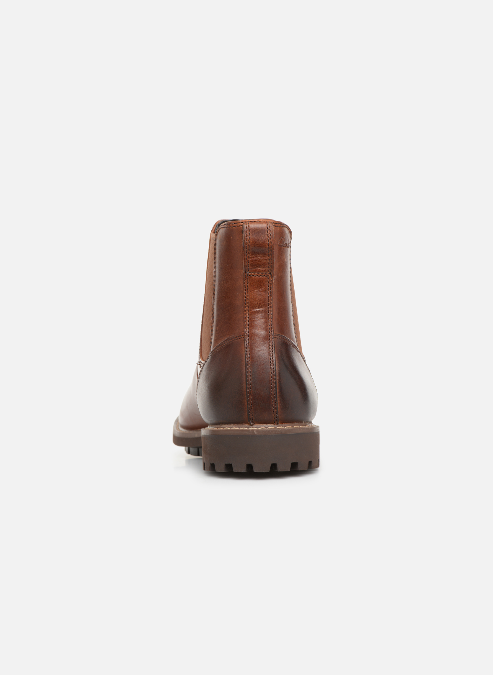 Ankle boots Clarks Montacute Top Brown view from the right