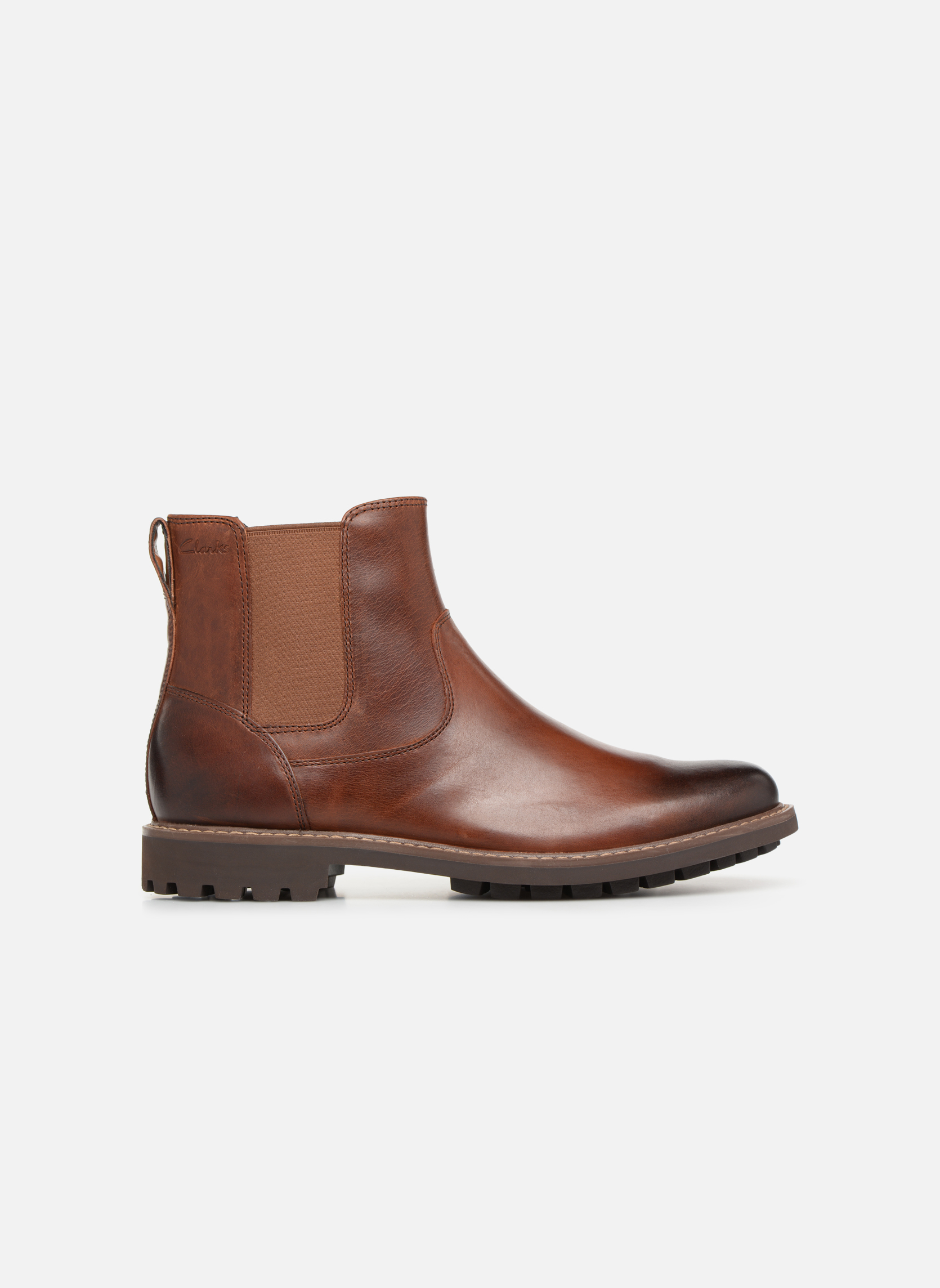 Ankle boots Clarks Montacute Top Brown back view