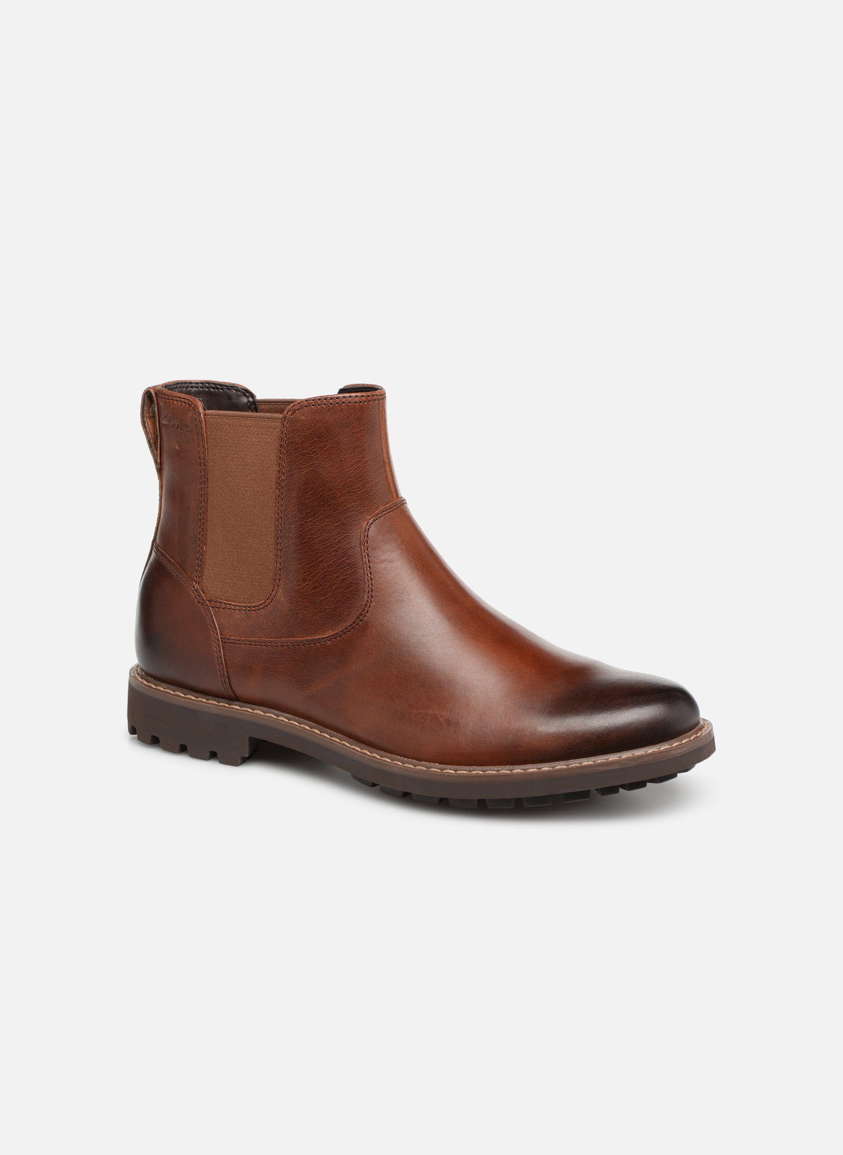 Ankle boots Clarks Montacute Top Brown detailed view/ Pair view