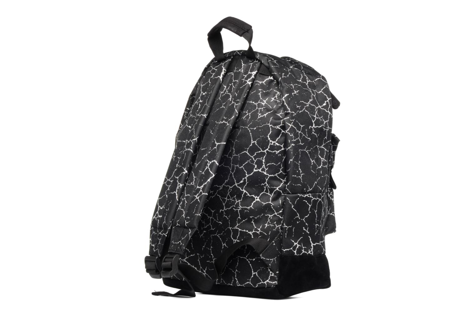 Custom Backpack Black/silver Cracked