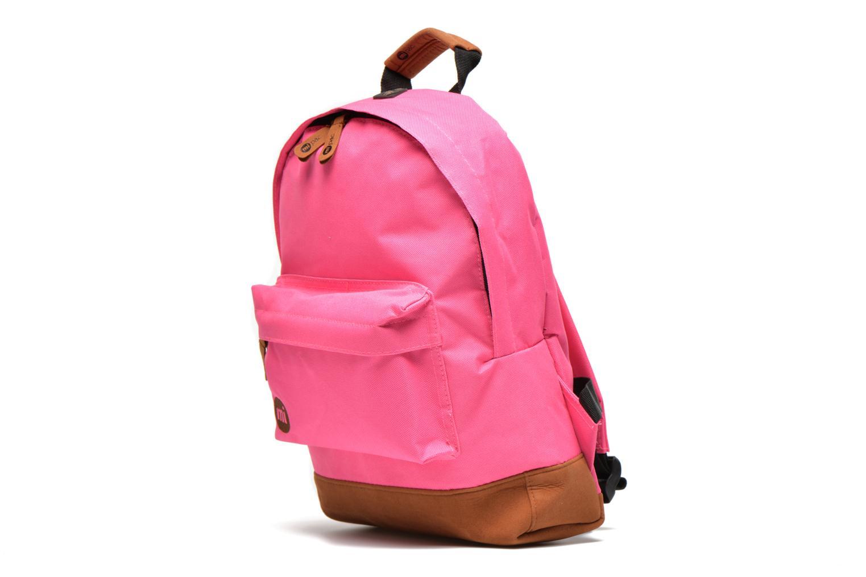 Mochilas Mi-Pac Mini Backpack Rosa vista del modelo
