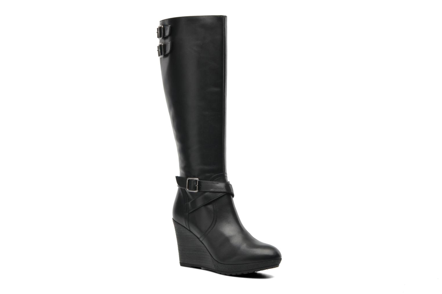 Boots & wellies Georgia Rose Tachaud Black detailed view/ Pair view