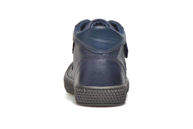 Sneaker Stones and Bones Nevan blau ansicht von rechts