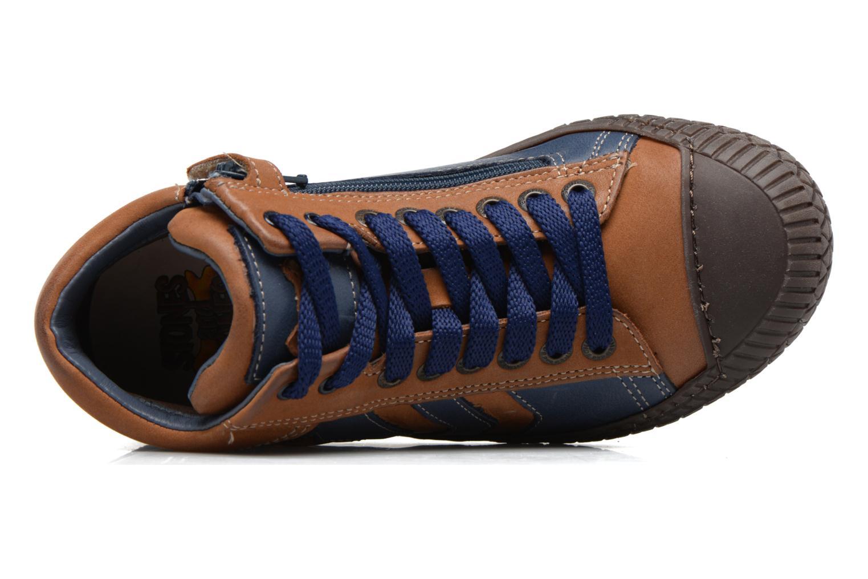 Niels Nab cuoio + blue