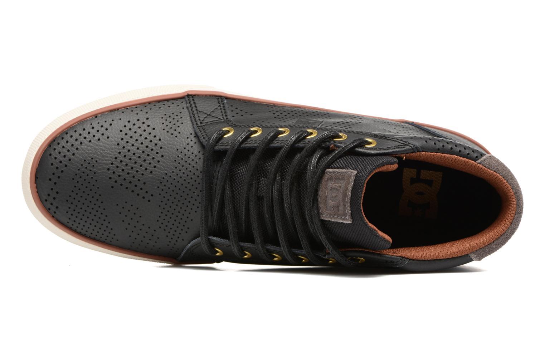 Baskets DC Shoes Council Mid Se Noir vue gauche