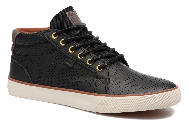 Baskets DC Shoes Council Mid Se Noir vue détail/paire