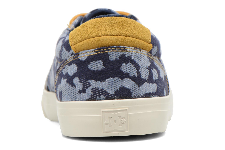 Sneaker DC Shoes Council Se blau ansicht von rechts