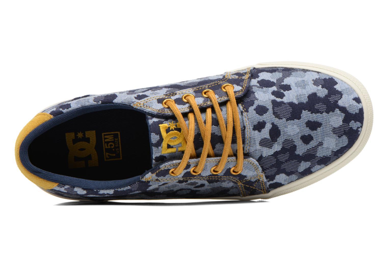 Sneaker DC Shoes Council Se blau ansicht von links