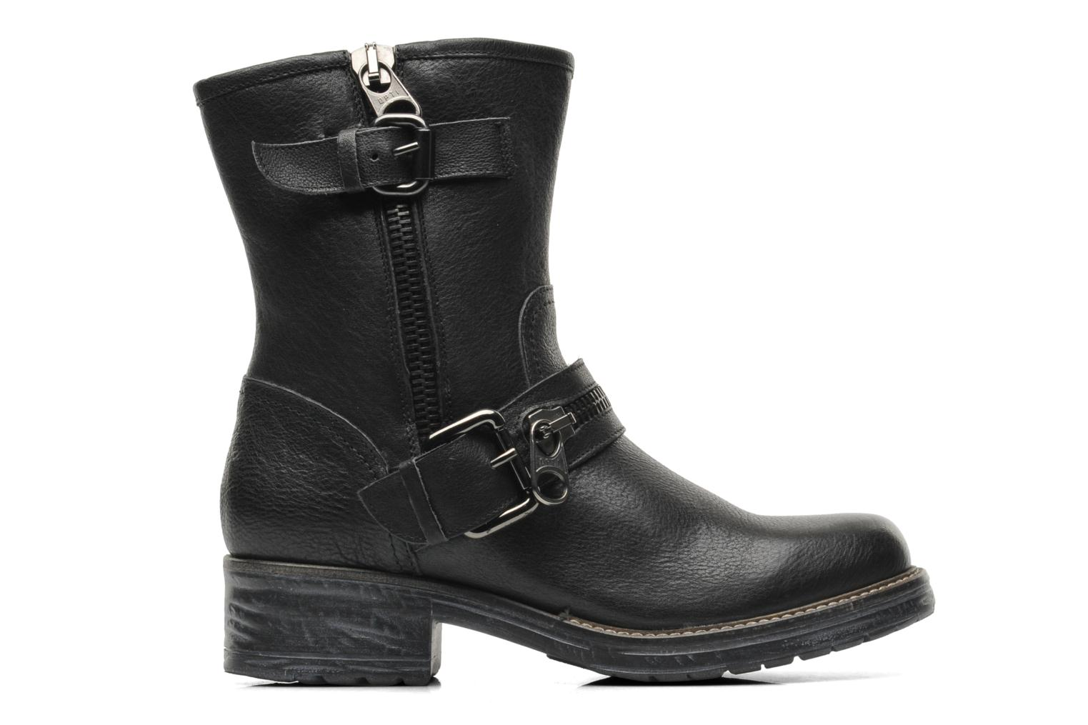 Ankle boots Gino Rossi Hartos Black back view
