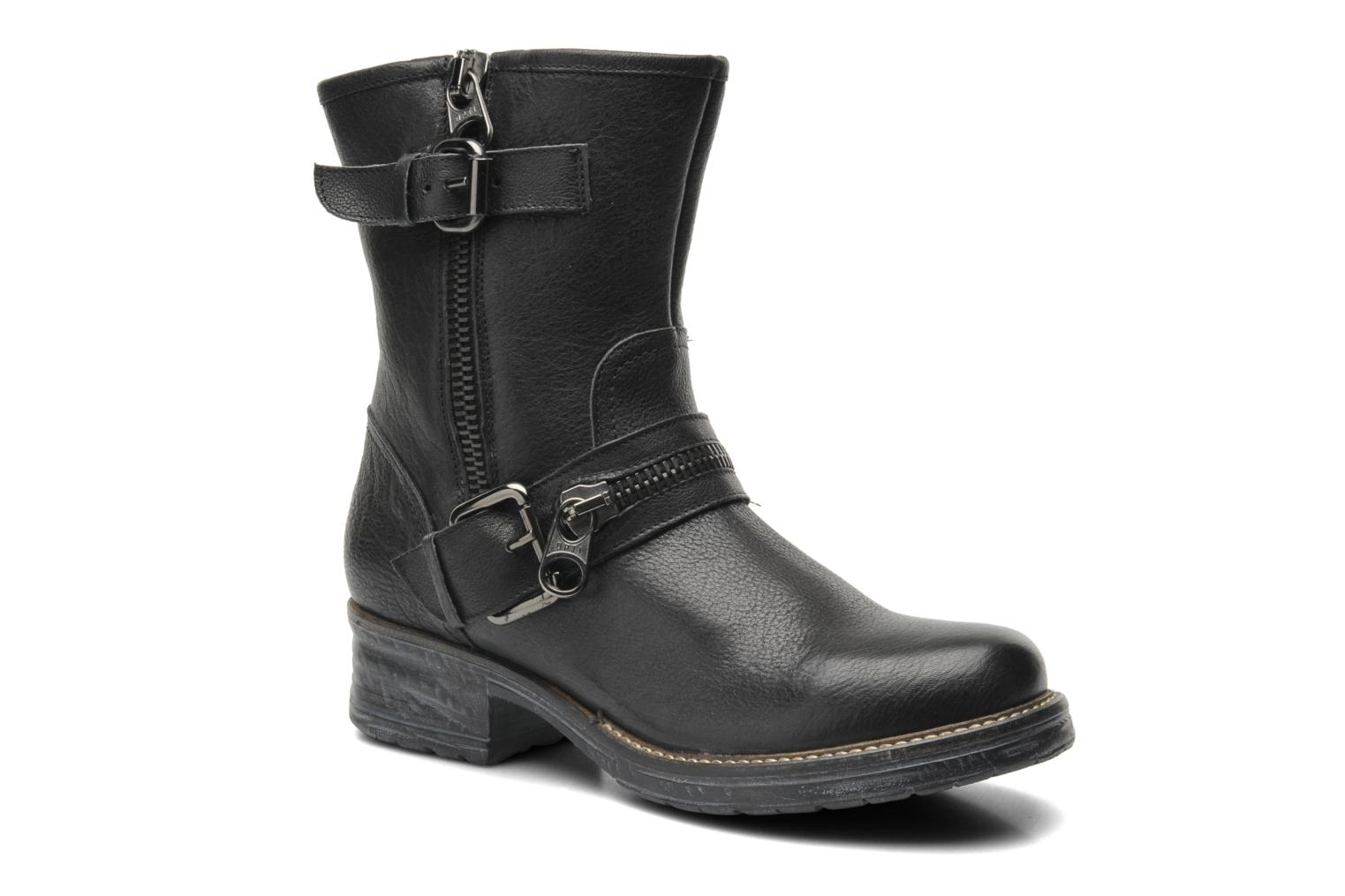 Ankle boots Gino Rossi Hartos Black detailed view/ Pair view