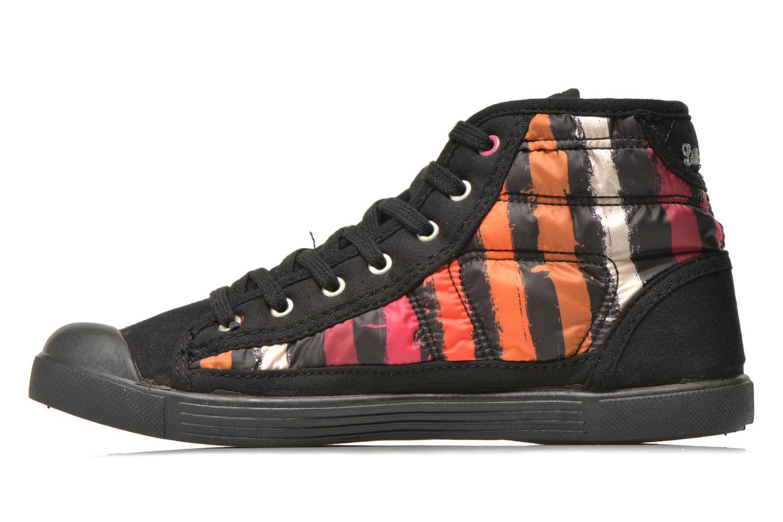Baskets Little Marcel Samba Up Stripes Multicolore vue face