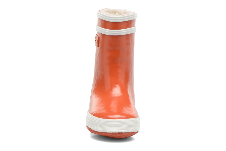 Stiefel Aigle Baby Flac Fur orange schuhe getragen