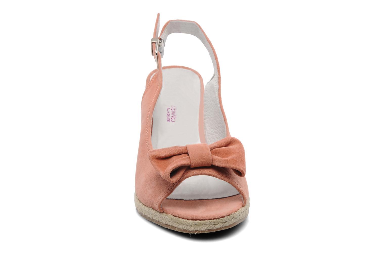 Sandales et nu-pieds Les Tropéziennes par M Belarbi Content Rose vue portées chaussures