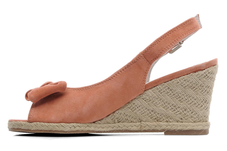 Sandales et nu-pieds Les Tropéziennes par M Belarbi Content Rose vue face