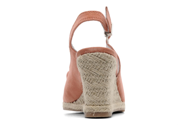 Sandales et nu-pieds Les Tropéziennes par M Belarbi Content Rose vue droite