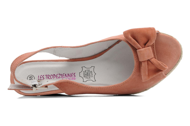 Sandales et nu-pieds Les Tropéziennes par M Belarbi Content Rose vue gauche