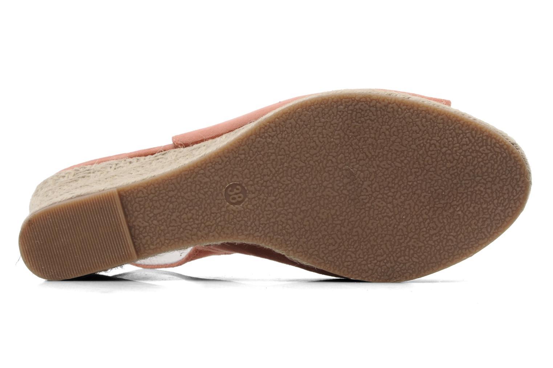 Sandales et nu-pieds Les Tropéziennes par M Belarbi Content Rose vue haut