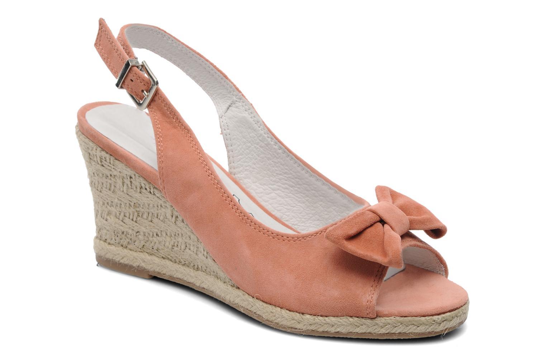 Sandales et nu-pieds Les Tropéziennes par M Belarbi Content Rose vue détail/paire
