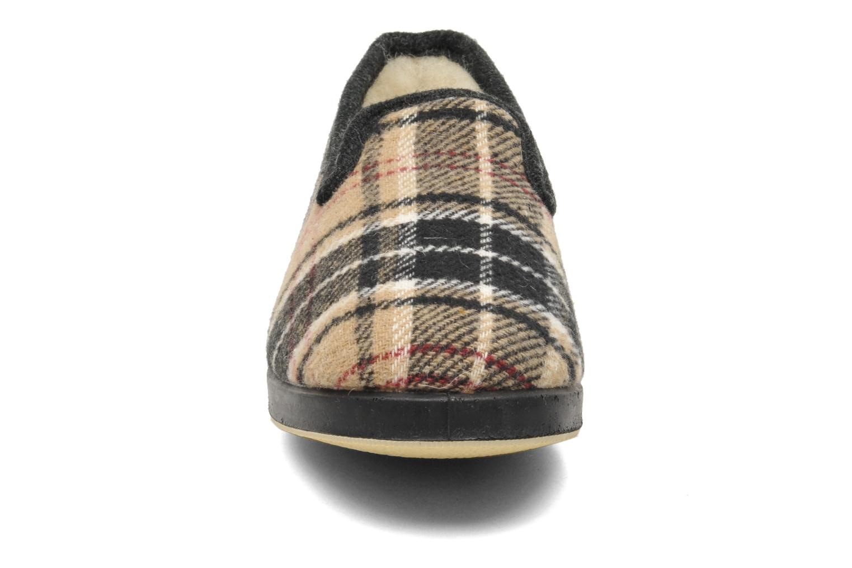 Chaussons La maison de l'espadrille Maurice Beige vue portées chaussures