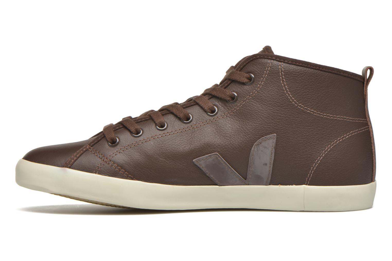 Sneakers Veja Taua Mid M Bruin voorkant