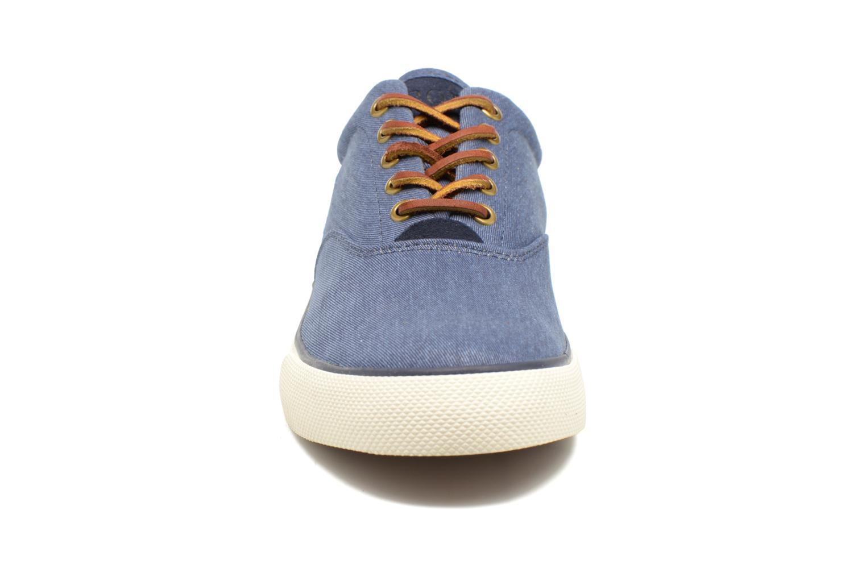 Baskets Polo Ralph Lauren Vaughn-Ne Bleu vue portées chaussures