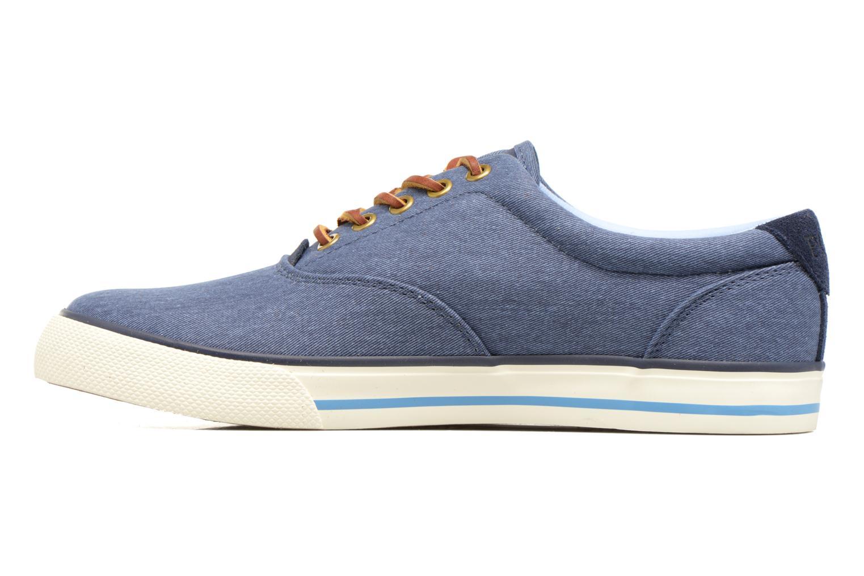 Sneakers Polo Ralph Lauren Vaughn-Ne Azzurro immagine frontale